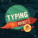 Typing Rocket Jr logo