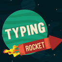 Typing Rocket logo